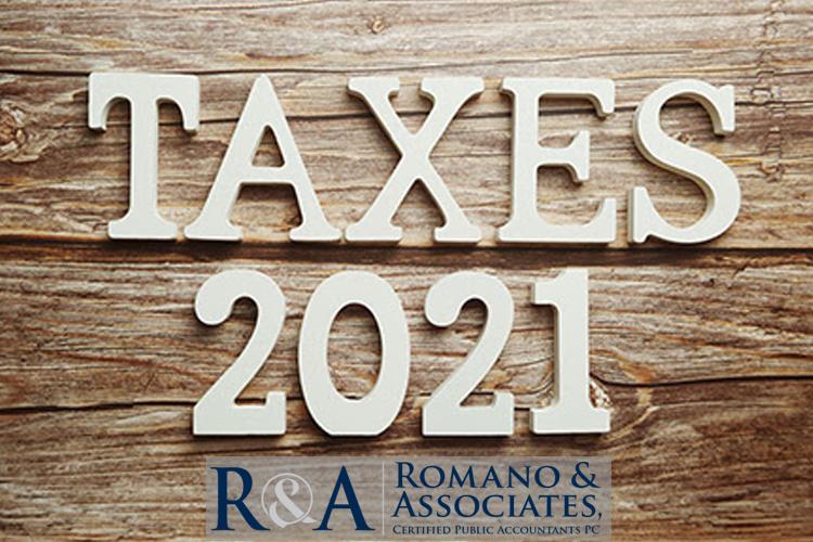 2021 Tax Calendar